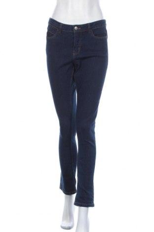 Дамски дънки Esmara, Размер M, Цвят Син, 83% памук, 15% полиестер, 2% еластан, Цена 24,57лв.
