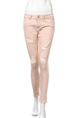 Дамски дънки H&M Divided, Размер M, Цвят Розов, 98% памук, 2% еластан, Цена 12,76лв.