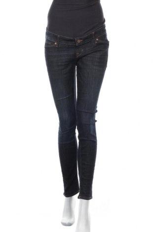 Дамски дънки H&M Mama, Размер XL, Цвят Син, 71% памук, 28% полиестер, 1% еластан, Цена 24,57лв.