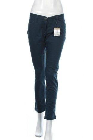 Дамски дънки Mar Collection, Размер M, Цвят Зелен, 98% памук, 2% еластан, Цена 44,10лв.