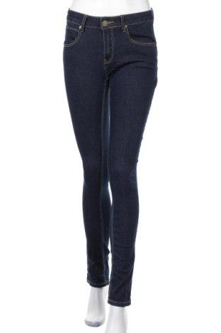 Дамски дънки Mila, Размер S, Цвят Син, 73% памук, 25% полиестер, 2% еластан, Цена 19,69лв.