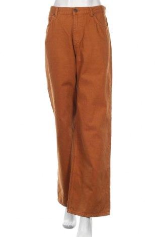 Дамски дънки Monki, Размер L, Цвят Оранжев, 100% памук, Цена 34,57лв.