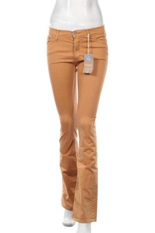 Дамски дънки Please, Размер S, Цвят Оранжев, 98% памук, 2% еластан, Цена 19,88лв.
