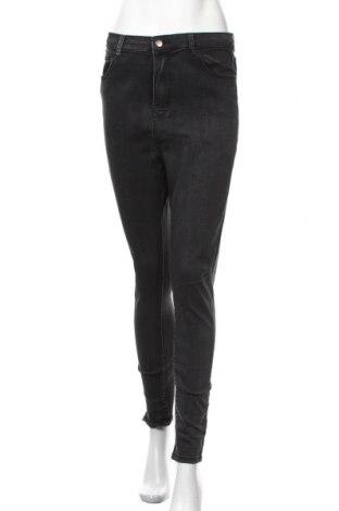 Дамски дънки Pretty Little Thing, Размер L, Цвят Черен, 70% памук, 25% полиестер, 5% еластан, Цена 21,84лв.
