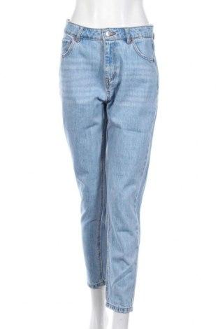 Дамски дънки Pull&Bear, Размер M, Цвят Син, Цена 21,00лв.