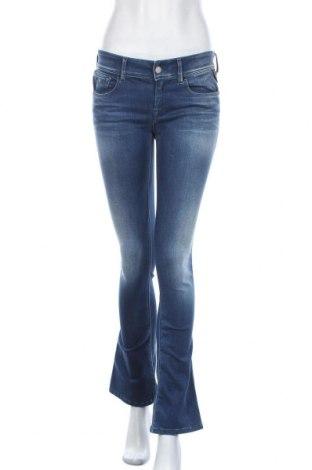 Дамски дънки Replay, Размер M, Цвят Син, 92% памук, 6% полиестер, 2% еластан, Цена 57,12лв.