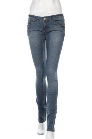 Дамски дънки Silvian Heach, Размер M, Цвят Син, 98% памук, 2% еластан, Цена 28,98лв.