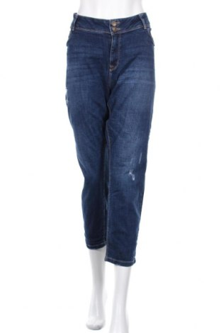 Дамски дънки Yessica, Размер XXL, Цвят Син, 98% памук, 2% еластан, Цена 27,30лв.