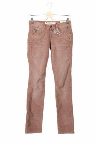 Дамски джинси Freeman T. Porter, Размер XS, Цвят Розов, 98% памук, 2% еластан, Цена 24,96лв.