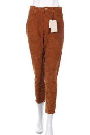Дамски джинси Pull&Bear, Размер M, Цвят Кафяв, Памук, Цена 47,04лв.