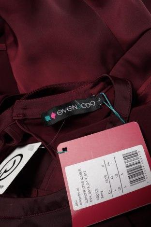 Дамски гащеризон Even&Odd, Размер L, Цвят Червен, 96% полиестер, 4% еластан, Цена 28,00лв.