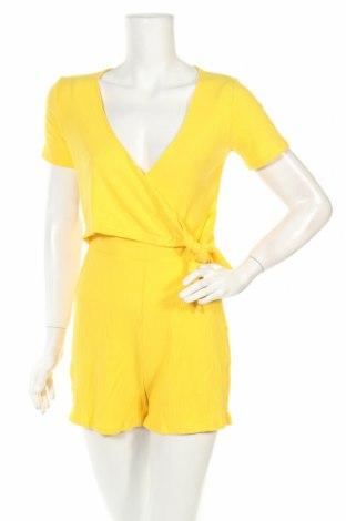 Γυναικεία σαλοπέτα Even&Odd, Μέγεθος S, Χρώμα Κίτρινο, 52% πολυεστέρας, 48% βαμβάκι, 2% ελαστάνη, Τιμή 9,74€