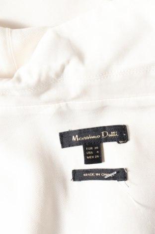 Дамски гащеризон Massimo Dutti, Размер S, Цвят Бял, Вискоза, Цена 29,80лв.