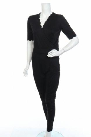 Дамски гащеризон Rue de Femme, Размер S, Цвят Черен, 60% вискоза, 35% полиестер, 5% еластан, Цена 138,75лв.
