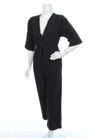 Γυναικεία σαλοπέτα Selected Femme, Μέγεθος XS, Χρώμα Μαύρο, 55% λινό, 45% βαμβάκι, Τιμή 49,87€