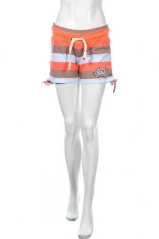 Дамски къс панталон Kangaroos, Размер XS, Цвят Многоцветен, 95% памук, 5% еластан, Цена 19,50лв.