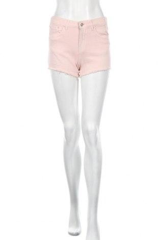Γυναικείο κοντό παντελόνι Lefties, Μέγεθος S, Χρώμα Ρόζ , 98% βαμβάκι, 2% ελαστάνη, Τιμή 7,09€