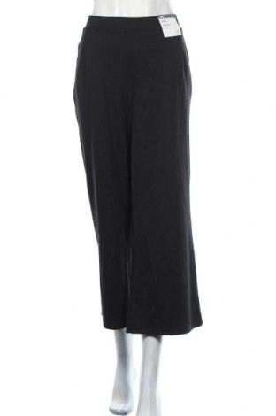 Дамски панталон Anko, Размер L, Цвят Черен, 77% полиестер, 20% вискоза, 3% еластан, Цена 27,78лв.