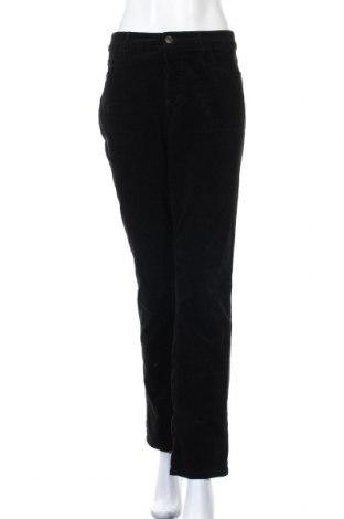 Дамски джинси Chaps, Размер L, Цвят Черен, 98% памук, 2% еластан, Цена 12,64лв.