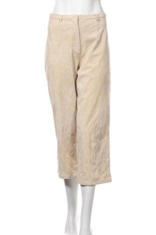 Дамски панталон Friendtex, Размер M, Цвят Бежов, Полиестер, Цена 6,55лв.