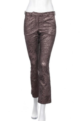 Дамски панталон Gustav, Размер S, Цвят Кафяв, 58% полиестер, 28% полиамид, 14% метални нишки, Цена 19,20лв.