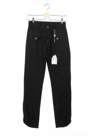 Дамски панталон Met, Размер XS, Цвят Черен, Памук, Цена 19,90лв.