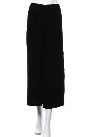 Γυναικείο παντελόνι Mtwtfss Weekday, Μέγεθος L, Χρώμα Μαύρο, 100% πολυεστέρας, Τιμή 10,91€