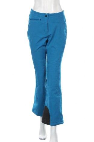 Дамски панталон за зимни спортове Maier Sports, Размер L, Цвят Син, 98% полиестер, 2% еластан, Цена 165,69лв.
