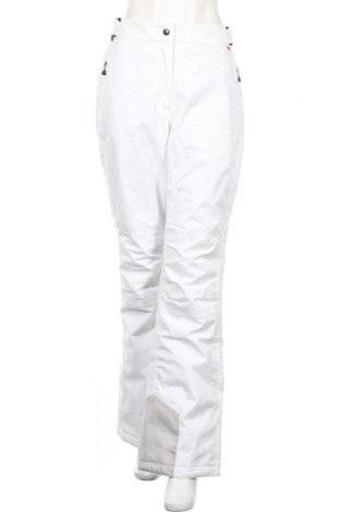 Дамски панталон за зимни спортове Maier Sports, Размер L, Цвят Бял, Полиестер, Цена 52,92лв.