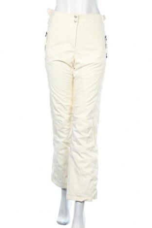 Дамски панталон за зимни спортове Ziener, Размер S, Цвят Екрю, 93% полиамид, 7% еластан, Цена 51,87лв.