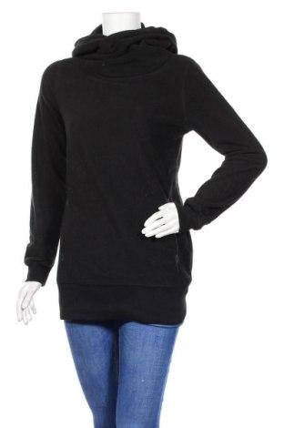 Дамски поларен суичър Gina, Размер M, Цвят Черен, Полиестер, Цена 19,32лв.