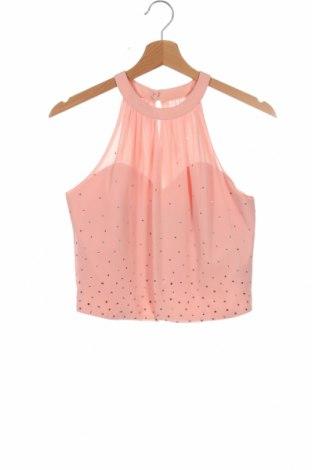 Γυναικείο αμάνικο μπλουζάκι Apart, Μέγεθος S, Χρώμα Ρόζ , Πολυεστέρας, Τιμή 20,63€