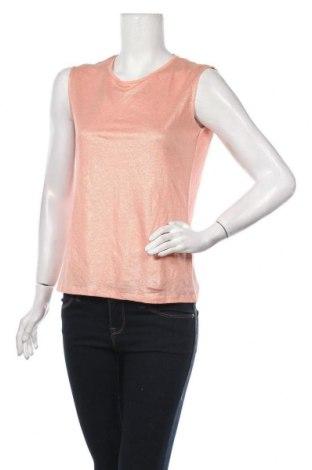 Γυναικείο αμάνικο μπλουζάκι Petit Bateau, Μέγεθος XS, Χρώμα Ρόζ , Λινό, Τιμή 7,58€