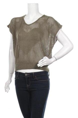 Дамски пуловер, Размер M, Цвят Зелен, Цена 5,55лв.