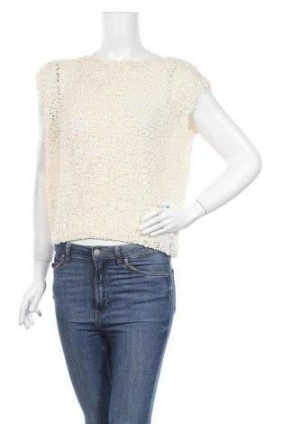Дамски пуловер, Размер M, Цвят Бежов, Цена 6,83лв.