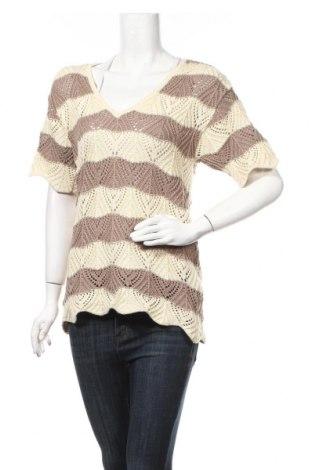 Дамски пуловер, Размер M, Цвят Бежов, 50% памук, 50% акрил, Цена 6,83лв.