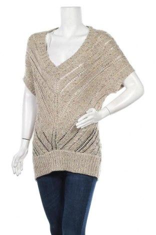 Дамски пуловер American Eagle, Размер S, Цвят Бежов, 51% акрил, 25% полиестер, 24% вълна, Цена 8,40лв.