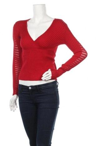 Γυναικείο πουλόβερ Ashley Brooke, Μέγεθος XS, Χρώμα Κόκκινο, Τιμή 9,55€