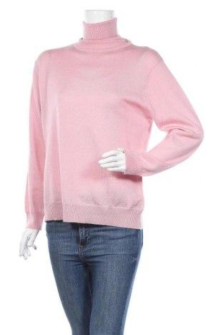 Дамски пуловер Authentic Clothing Company, Размер L, Цвят Розов, 50% мерино, 50% акрил, Цена 16,17лв.