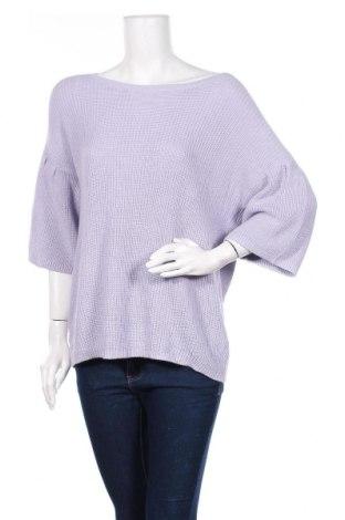 Дамски пуловер B Collection, Размер S, Цвят Лилав, Памук, акрил, Цена 8,82лв.
