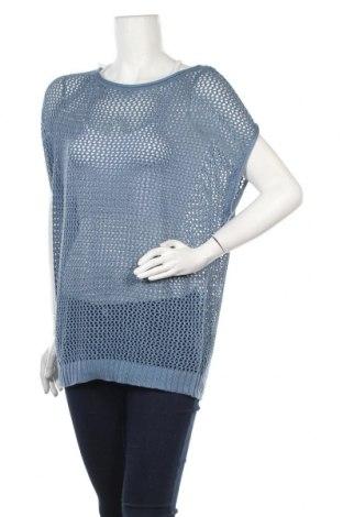 Дамски пуловер Blue Motion, Размер M, Цвят Син, 60% памук, 40% вискоза, Цена 4,96лв.