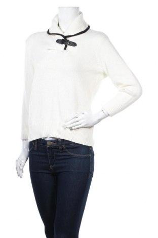 Дамски пуловер Chaps, Размер M, Цвят Бял, Памук, Цена 11,74лв.