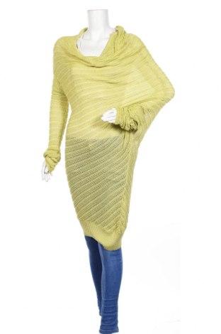 Дамски пуловер Cristina Gavioli, Размер S, Цвят Зелен, 70% вискоза, 30% акрил, Цена 73,72лв.