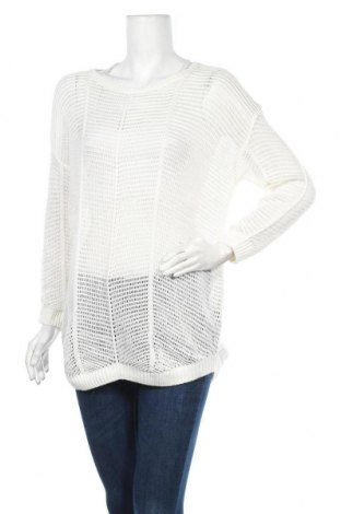 Дамски пуловер Esmara, Размер M, Цвят Бял, 50% памук, 50% акрил, Цена 5,80лв.