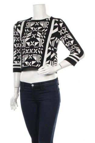 Дамски пуловер H&M, Размер M, Цвят Черен, 42% вискоза, 40% акрил, 18% полиамид, Цена 36,75лв.