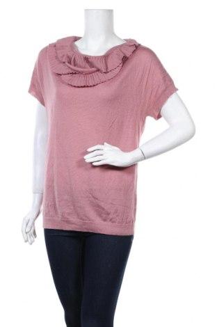 Дамски пуловер Loft By Ann Taylor, Размер L, Цвят Розов, Цена 6,05лв.