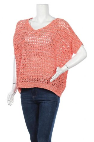 Дамски пуловер Olsen, Размер L, Цвят Розов, Памук, Цена 5,46лв.