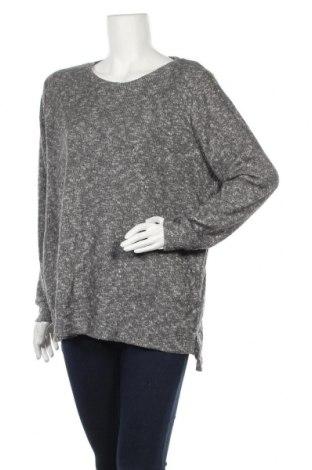 Дамски пуловер Peteralexander, Размер XL, Цвят Сив, 51% полиестер, 46% вискоза, 3% еластан, Цена 17,75лв.