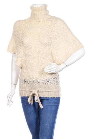 Дамски пуловер Vero Moda, Размер S, Цвят Екрю, 55% рамия, 30% акрил, 15% мохер, Цена 7,00лв.
