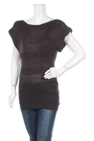 Дамски пуловер Zebra, Размер S, Цвят Кафяв, Акрил, Цена 24,94лв.